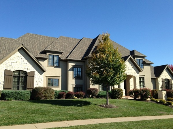 Grand home in Foxfire neighborhood in Lawrence