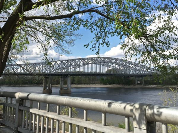 A walk away from Paddy Malone's is a favorite spot for overlooking the beautiful Missouri River