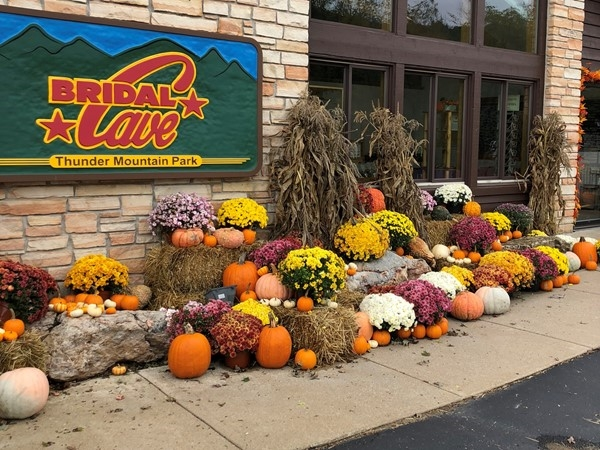 Bridal Cave weekends Fall Festival. What a great place to bring the family
