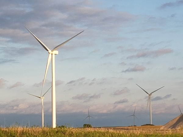 Wind turbines in Ottawa