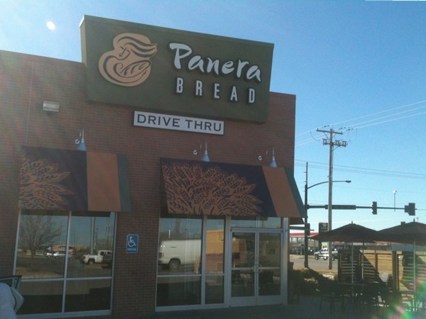 Panera has great bagels. This location at Rock and Meadowlark