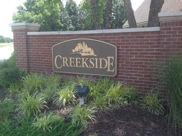 Creekside Subdivision in Overland Park, another great place to live