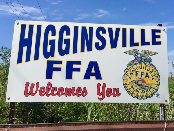 The Lafayette County C-1, Higginsville Chapter, FFA is very active in the community