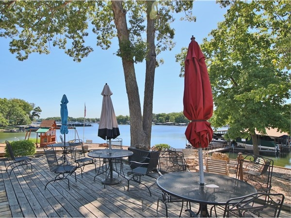Pack a lunch and head to the lakeside deck at 11 West Condominiums