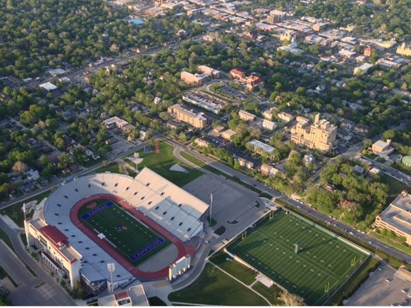 University of Kansas football stadium