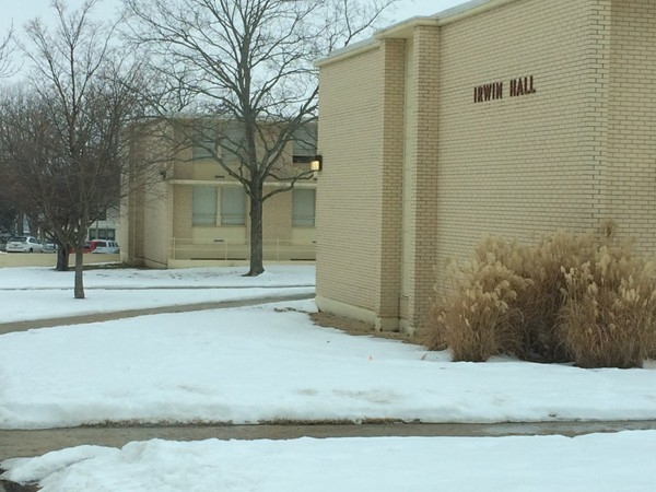 Irwin Hall dormitory at Baker University
