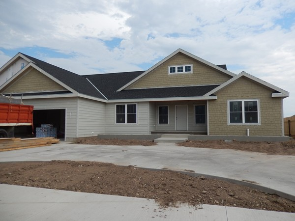 Hays has new homes under construction