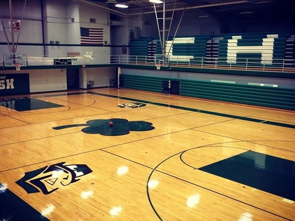 In a few short weeks, this gym will be packed wth Irish fans and fans from away