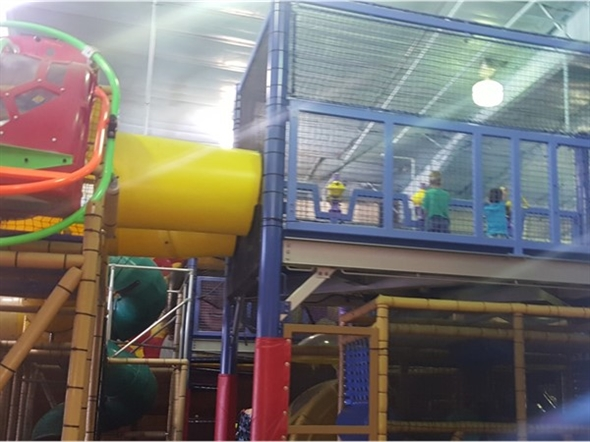 Indoor play area at Miner Miles in Osage Beach