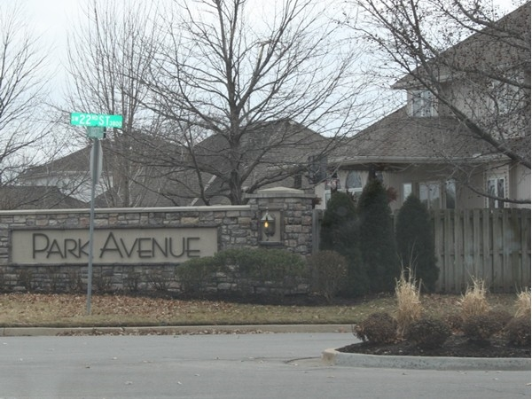 Park Avenue Subdivision in Blue Springs