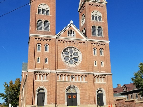 Beautiful church in Atchison