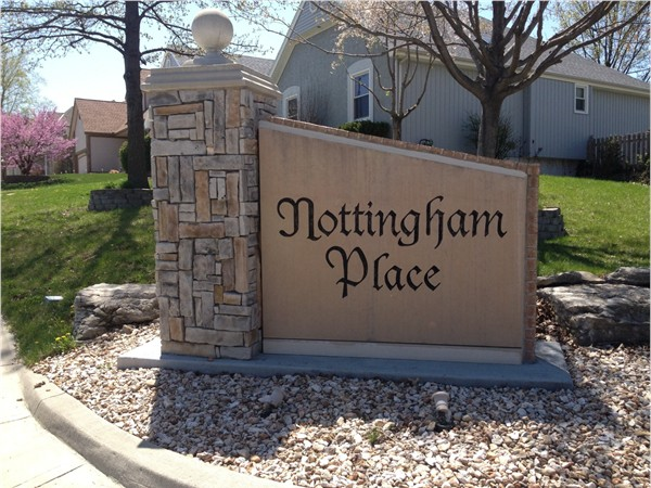 Beautiful subdivision - Nottingham Place in Independence Missouri