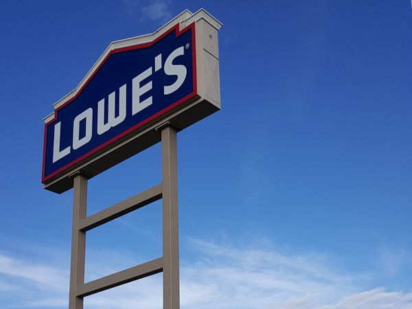 Beautiful day to go to Lowe's...4 times! It's located off of Hwy 32 in Lebanon