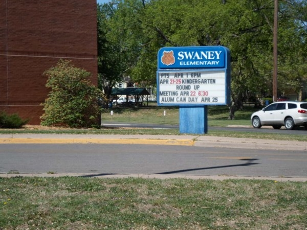 Swaney Elementary School, one of many in the Derby School District