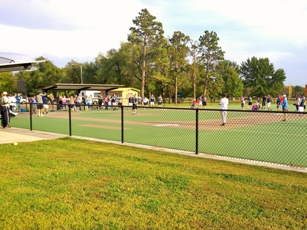 Baseball diamonds designed for ease of accessibility