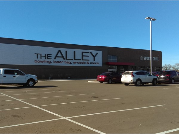 The Alley in Hutchinson. Bowling, laser tag, arcade and sports bar. Tons of fun for the whole family