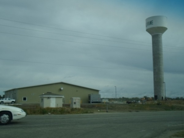 New water tower assists with local casino