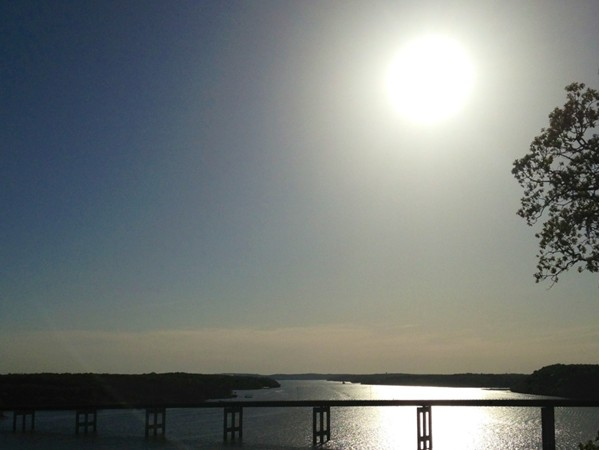 View of the Community Bridge spanning over the Lake of the Ozarks