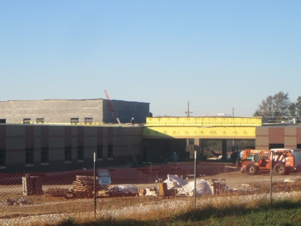 Sunflower Elementary construction