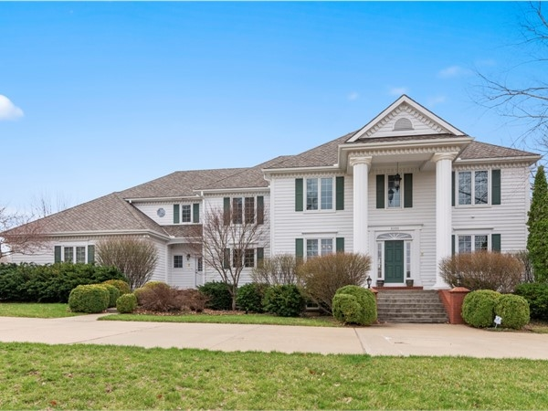 Stately home in Foxfire Subdivision