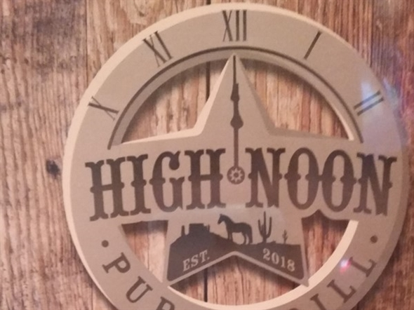 High Noon Pub & Grill opened Monday, August 20.  Great food, great service, good prices
