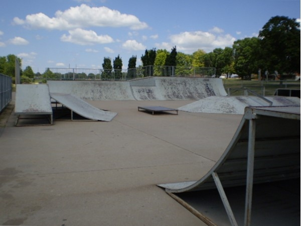 Our skate park in CICO