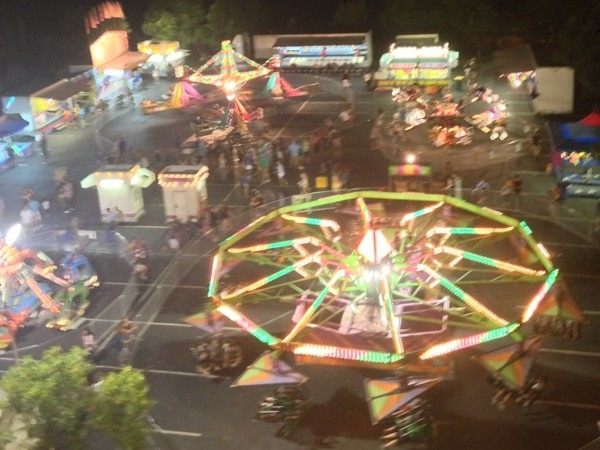 Carnival at Parkville Days, August 2013.
