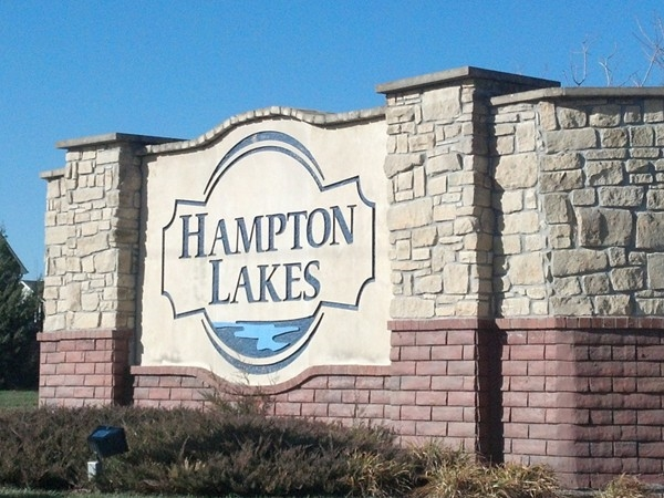 Hampton Lakes is a new home subdivision in Northwest Wichita.  It is in its final phase and they hav