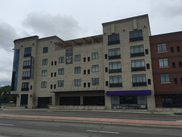 Bluemont Hotel is conveniently located near Aggieville