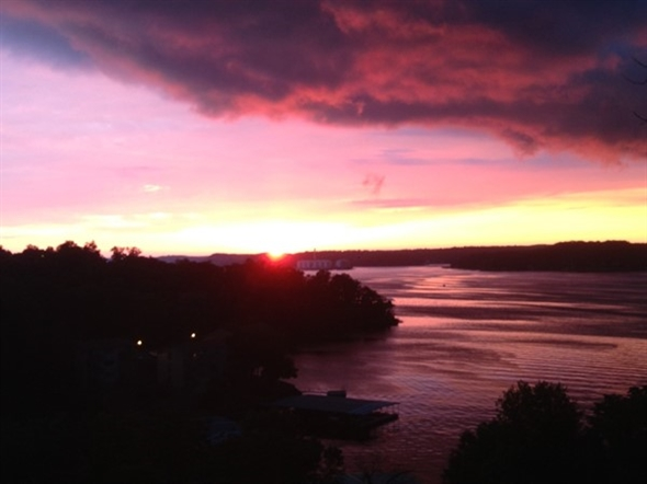 Lake of the Ozarks offers amazing sunsets