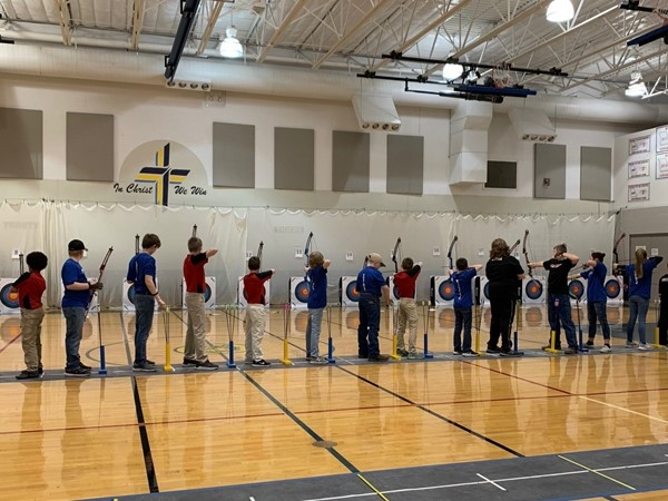 Christ The King Lutheran School has an extremely talented archery team