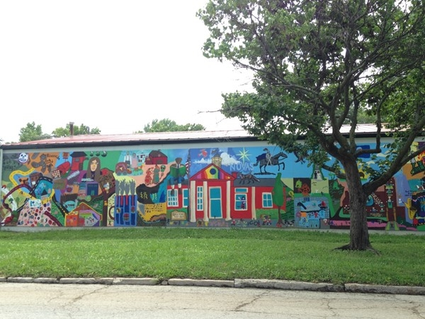 Mural in East Lawrence