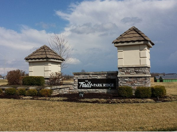 Trails at Park Ridge is a very nice maintenance free community with beautiful homes & walking trails
