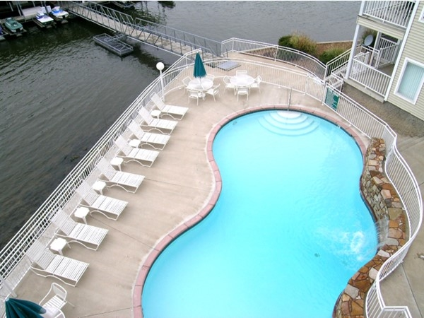 Take a dip with a view at Keystone Village Condominiums