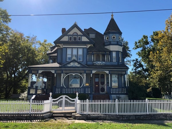 The historic Ray Home, also known as the Tuggle House,was built 1896