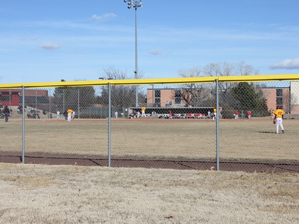 Oswald Baseball Diamond is a cooperative project between Hesston College and the city