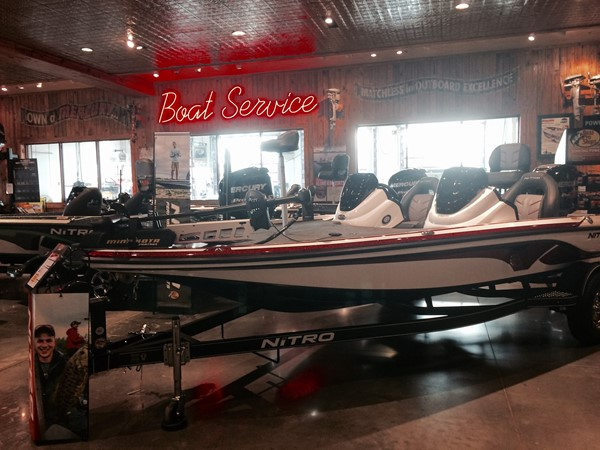 If you're dreaming of warmer weather, check out the awesome boats inside Bass Pro Shop