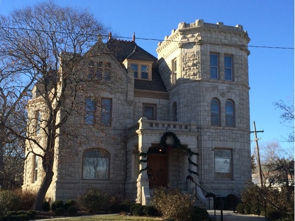 The Castle Tea Room at 1307 Massachusetts is available to rent for special occasions