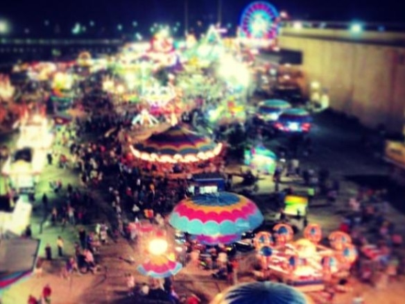 The Kansas State Fair draws thousands of visitors to Hutchinson each year