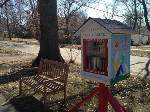 Another Little Free Library in University Place neighborhood