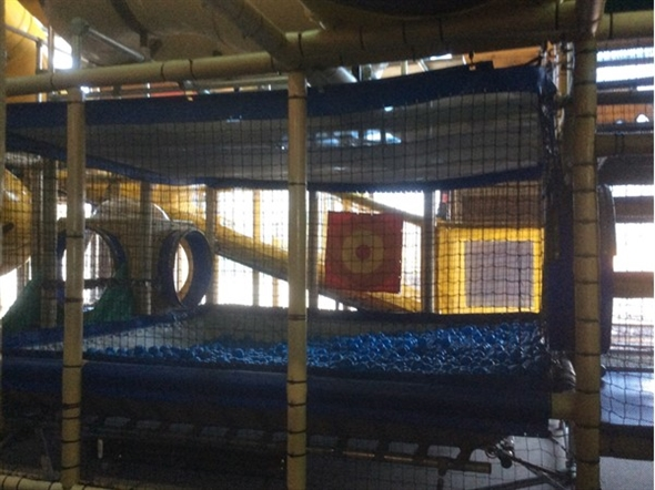 The ball pit at Miner Mikes in Osage Beach awaits