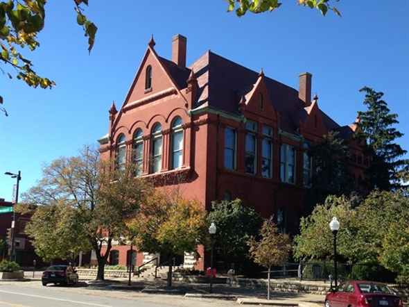 The Watkins Museum of History in Downtown Lawrence