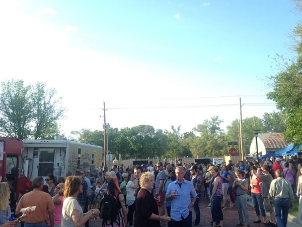 Warehouse Arts District features its Annual Kansas Food Truck Festival in East Lawrence