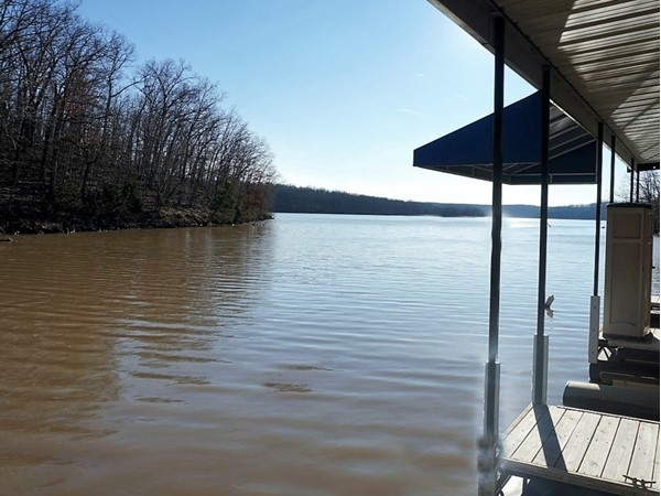 Lake level is starting to rise, getting ready for spring