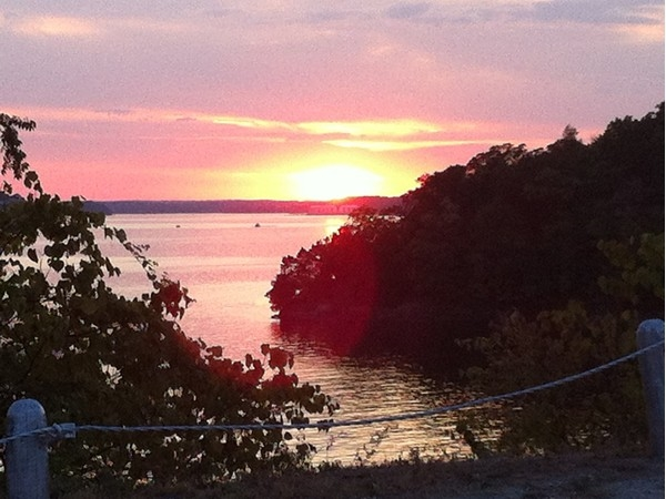 Sunset near Bagnell Dam