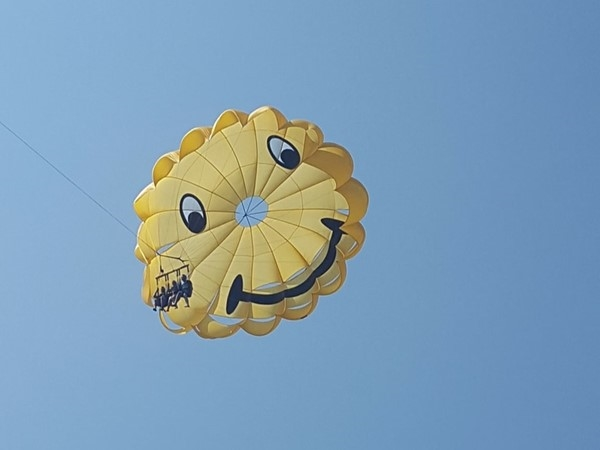 Parasailing is a fun and memorable thing to do at Lake of the Ozarks