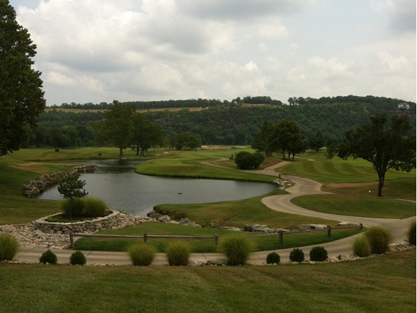 A scenic view of Ozark National Golf Resort