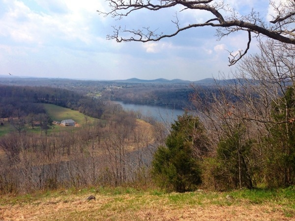 Majestic view of Lake Taneycomo in Forsyth Mo