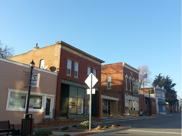 Shops and restaurants in Eudora