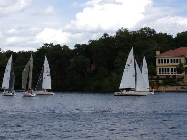 Sailing is a beautiful option on Weatherby Lake